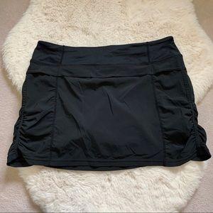 Black Lululemon Athletic Skirt